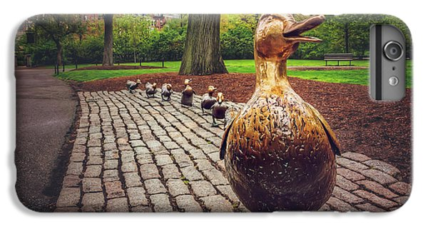 Make Way For Ducklings In Boston  IPhone 6 Plus Case