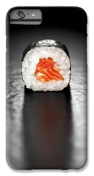 Salmon iPhone 6 Plus Case - Maki Sushi Roll With Salmon by Johan Swanepoel