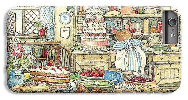Nature iPhone 6 Plus Case - Making The Wedding Cake by Brambly Hedge