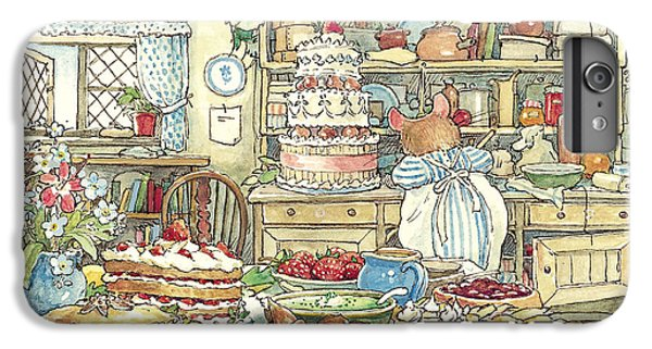 Mouse iPhone 6 Plus Case - Making The Wedding Cake by Brambly Hedge
