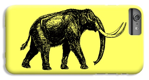 Mammoth Tee IPhone 6 Plus Case by Edward Fielding