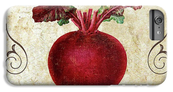 Mangia Radish IPhone 6 Plus Case by Mindy Sommers