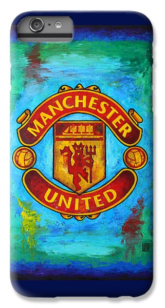 Manchester United Vintage IPhone 6 Plus Case
