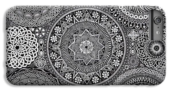 Mandala Bouquet IPhone 6 Plus Case by Matthew Ridgway