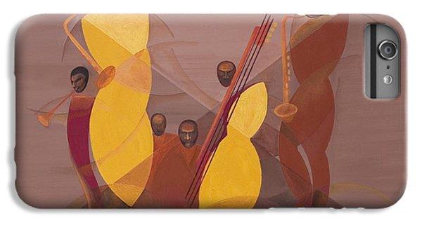 Mango Jazz IPhone 6 Plus Case by Kaaria Mucherera
