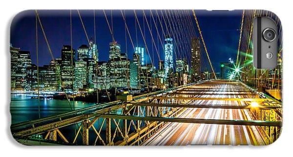 Brooklyn Bridge iPhone 6 Plus Case - Manhattan Bound by Az Jackson