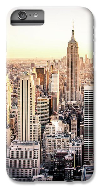 Building iPhone 6 Plus Case - Manhattan by Michael Weber