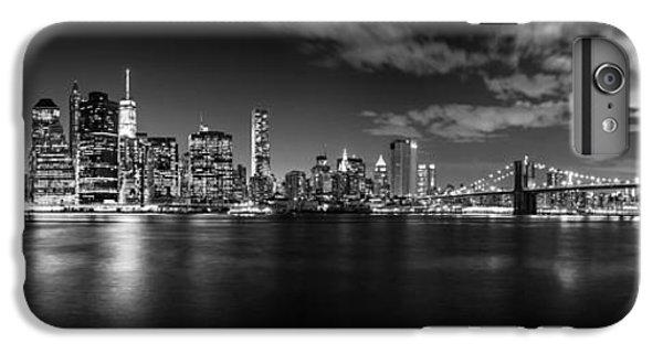 Brooklyn Bridge iPhone 6 Plus Case - Manhattan Skyline At Night by Az Jackson