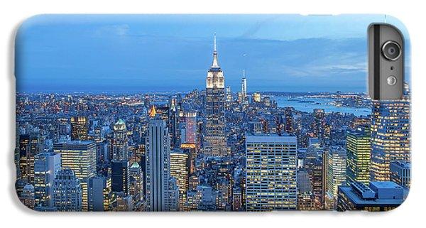Empire State Building iPhone 6 Plus Case - Manhattan Skyline New York City by Az Jackson