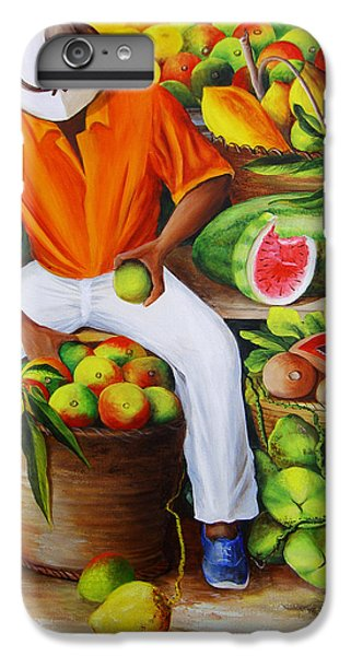 Manuel The Caribbean Fruit Vendor  IPhone 6 Plus Case
