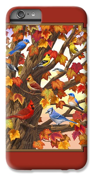 Maple Tree Marvel - Bird Painting IPhone 6 Plus Case by Crista Forest