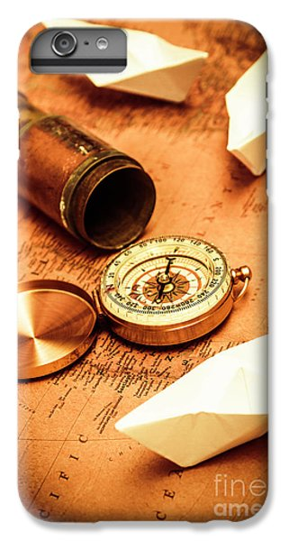Maps And Bearings IPhone 6 Plus Case