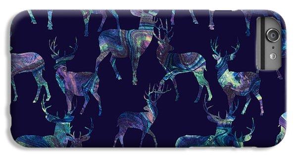 Marble Deer IPhone 6 Plus Case by Varpu Kronholm