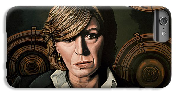 Musician iPhone 6 Plus Case - Marianne Faithfull Painting by Paul Meijering
