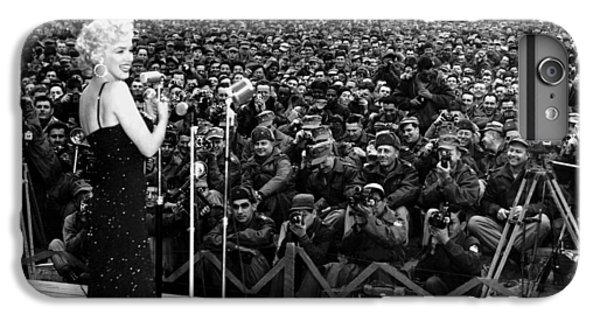 Marilyn Monroe Entertaining The Troops In Korea IPhone 6 Plus Case