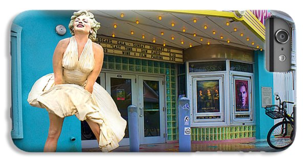 Marilyn Monroe In Front Of Tropic Theatre In Key West IPhone 6 Plus Case by David Smith