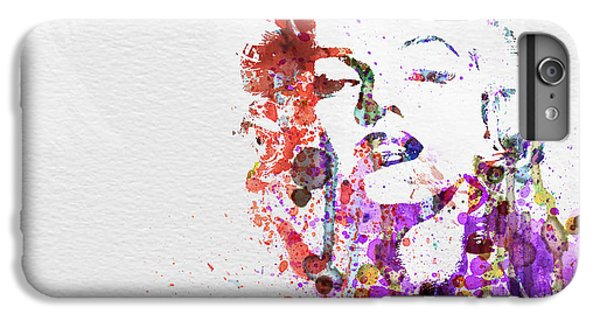Marilyn Monroe IPhone 6 Plus Case by Naxart Studio