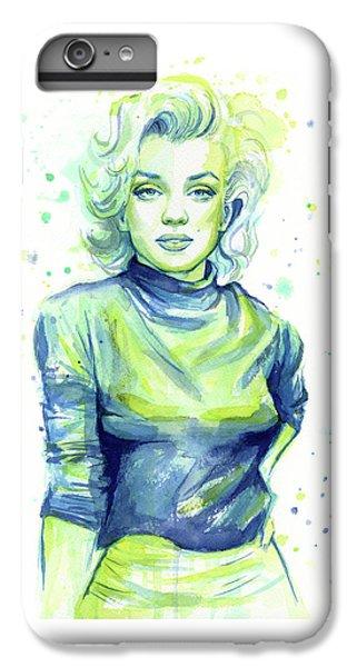 Actors iPhone 6 Plus Case - Marilyn Monroe by Olga Shvartsur