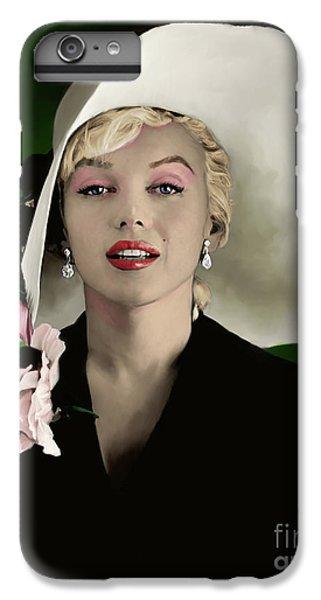 Marilyn Monroe iPhone 6 Plus Case - Marilyn Monroe by Paul Tagliamonte