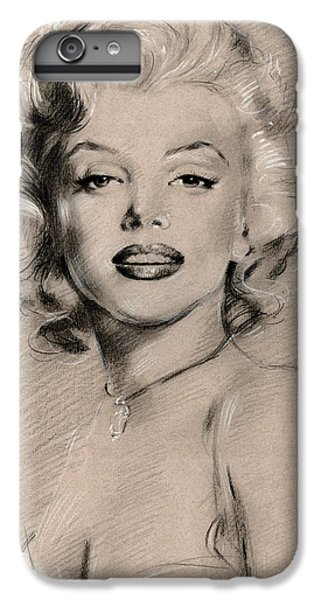 Marilyn Monroe IPhone 6 Plus Case by Ylli Haruni