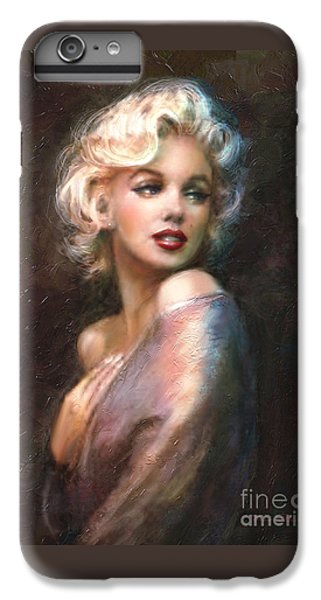 Marilyn Romantic Ww 1 IPhone 6 Plus Case by Theo Danella
