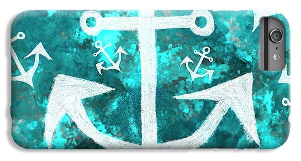Maritime Anchor Art IPhone 6 Plus Case