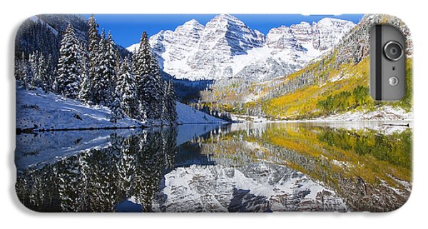 Maroon Lake And Bells 1 IPhone 6 Plus Case