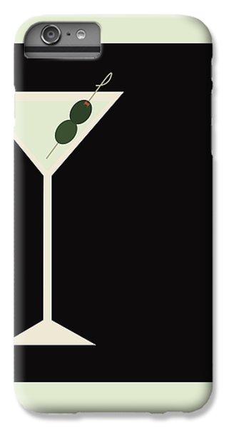 Martini IPhone 6 Plus Case by Julia Garcia