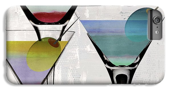 Martini Prism IPhone 6 Plus Case by Mindy Sommers