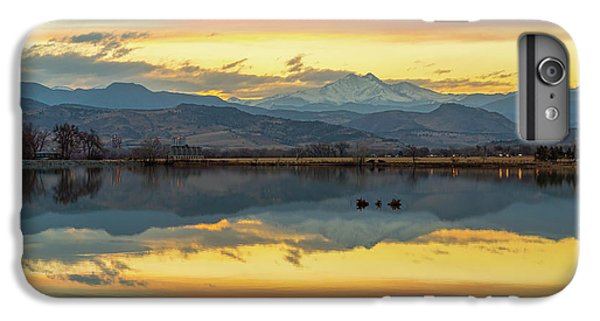 IPhone 6 Plus Case featuring the photograph Marvelous Mccall Lake Reflections by James BO Insogna