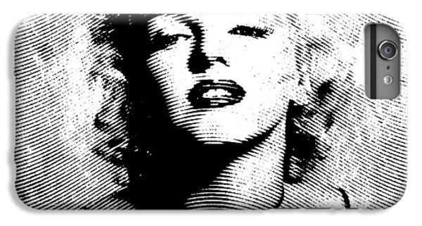 Marilyn Monroe - 04a IPhone 6 Plus Case by Variance Collections