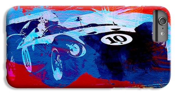 Car iPhone 6 Plus Case - Maserati On The Race Track 1 by Naxart Studio