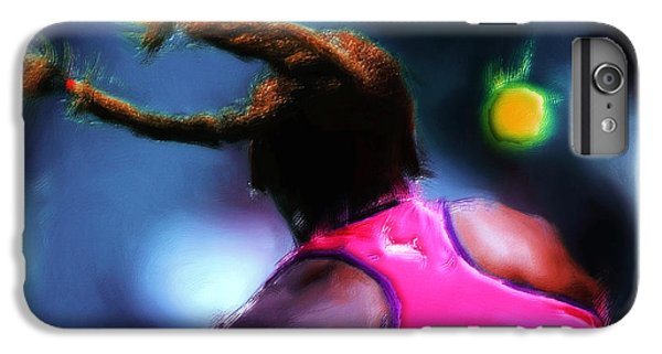 Venus Williams iPhone 6 Plus Case - Match Point by Brian Reaves