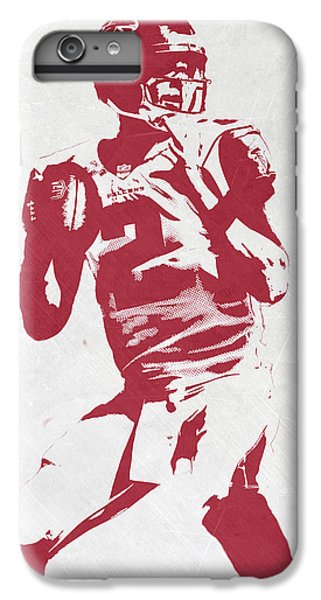 Matt Ryan Atlanta Falcons Pixel Art 2 IPhone 6 Plus Case