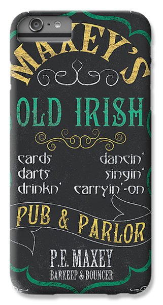 Maxey's Old Irish Pub IPhone 6 Plus Case by Debbie DeWitt
