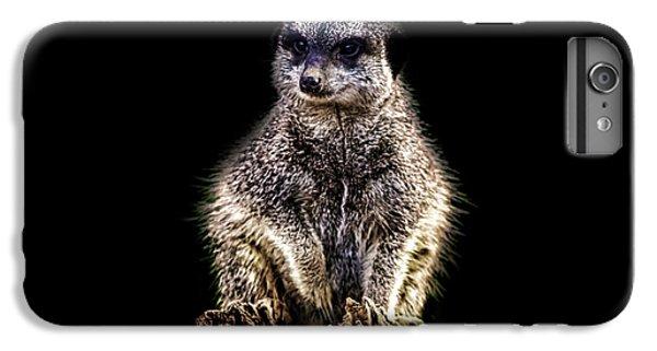 Meerkat iPhone 6 Plus Case - Meerkat Lookout by Martin Newman