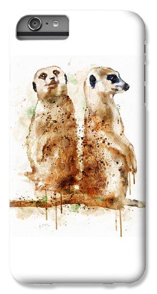 Meerkat iPhone 6 Plus Case - Meerkats by Marian Voicu