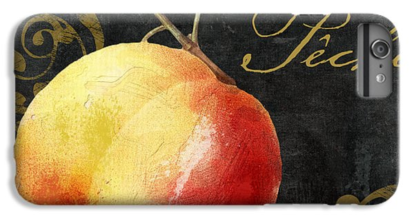 Melange Peach Peche IPhone 6 Plus Case by Mindy Sommers