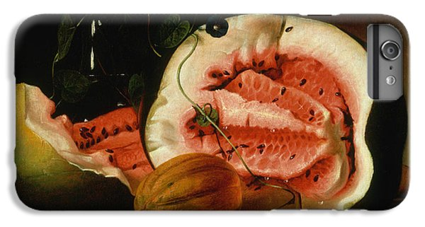 Melons And Morning Glories  IPhone 6 Plus Case by Raphaelle Peale