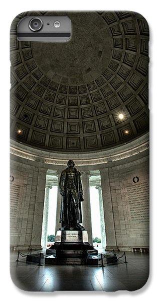 Memorial To Thomas Jefferson IPhone 6 Plus Case by Andrew Soundarajan