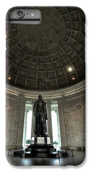 Memorial To Thomas Jefferson IPhone 6 Plus Case by Andrew Soundarajan