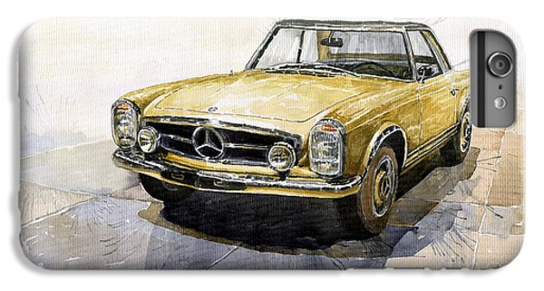 Car iPhone 6 Plus Case - Mercedes Benz W113 Pagoda by Yuriy Shevchuk