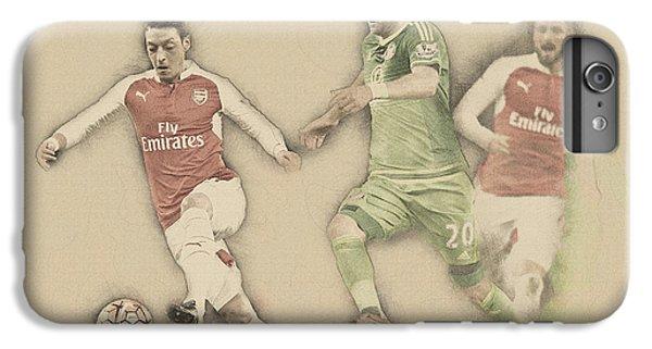Wayne Rooney iPhone 6 Plus Case - Mesut Ozil by Don Kuing