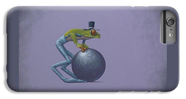 Frogs iPhone 6 Plus Case - Metal Ball by Jasper Oostland