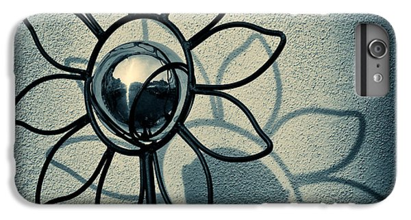 Sunflower iPhone 6 Plus Case - Metal Flower by Dave Bowman