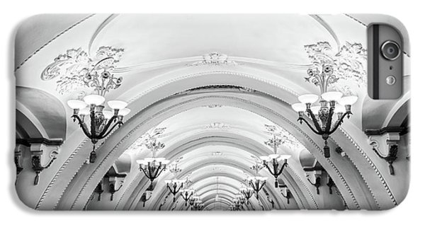 Moscow iPhone 6 Plus Case - Metro Arbatskaya by Delphimages Photo Creations