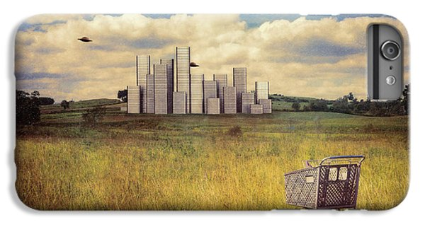 Aliens iPhone 6 Plus Case - Metropolis by Tom Mc Nemar