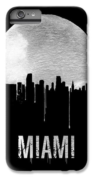 Miami Skyline Black IPhone 6 Plus Case