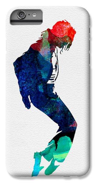 Michael Watercolor IPhone 6 Plus Case by Naxart Studio