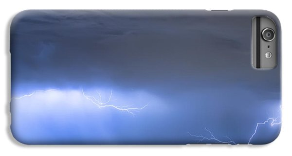 IPhone 6 Plus Case featuring the photograph Michelangelo Lightning Strikes Oil by James BO Insogna